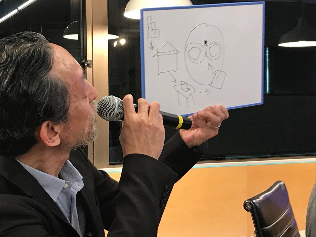 Katsura Hattori's Image of VR in the Future.