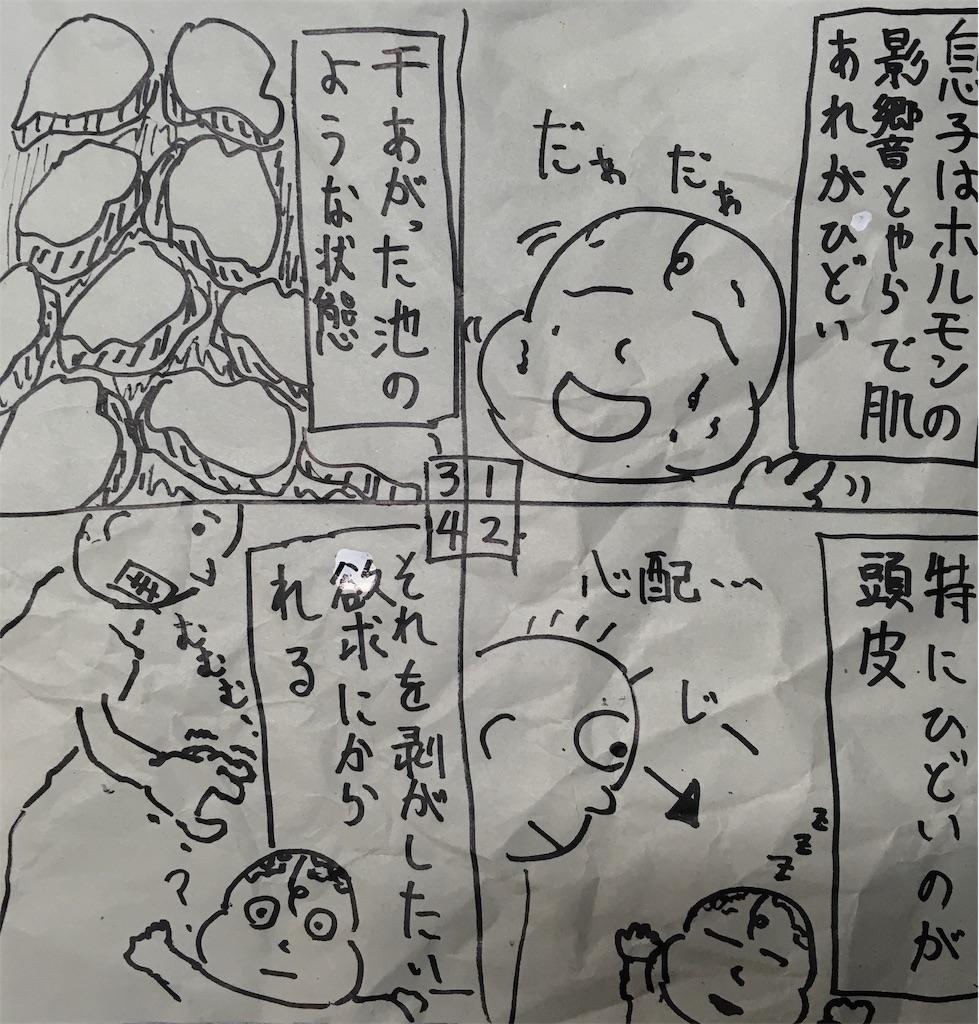 乾燥対策 漫画
