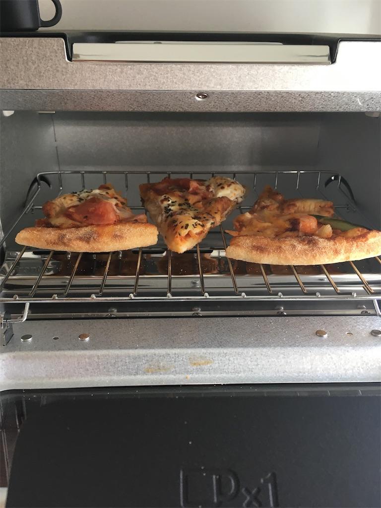 バルミューダへピザセット