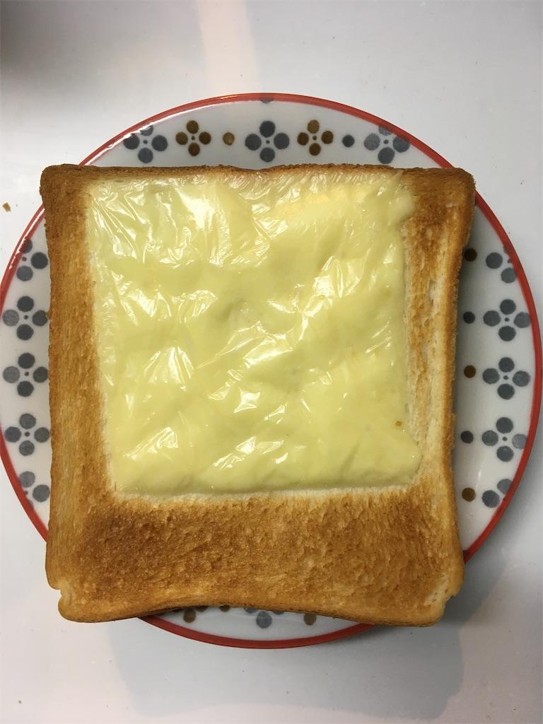 チーズトースト焼き時間4分