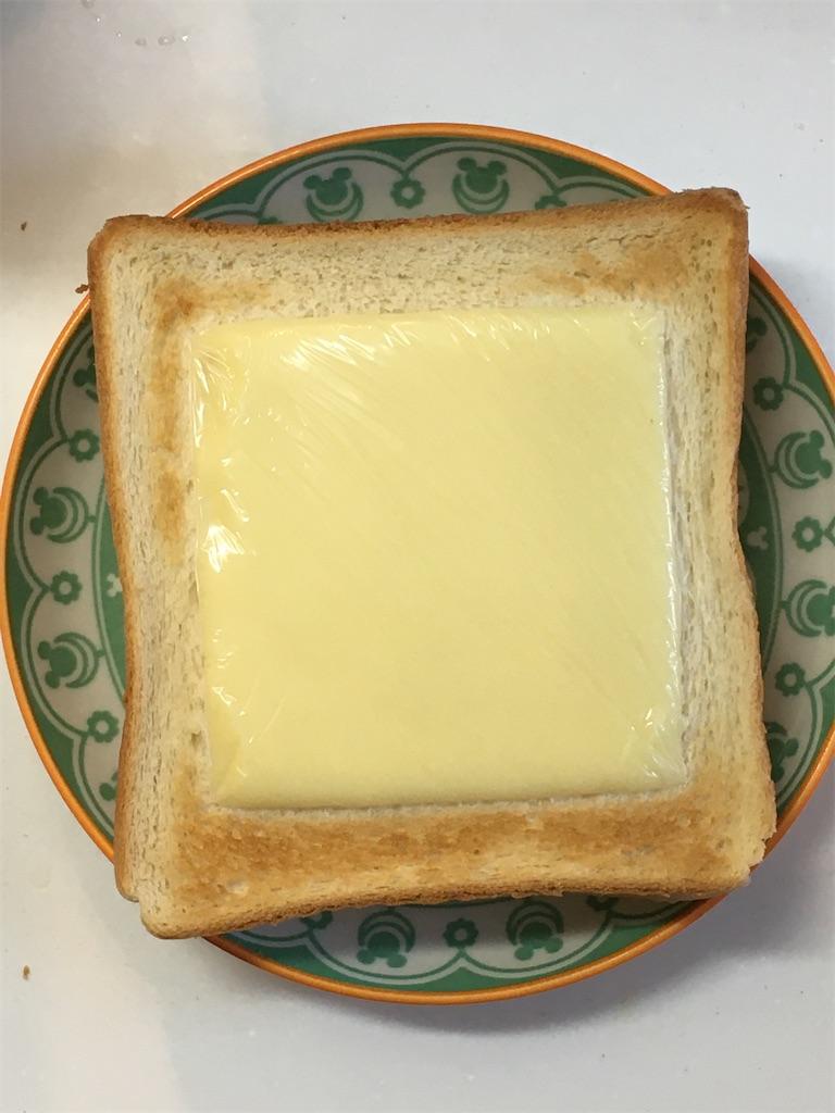 チーズトースト焼き時間3分