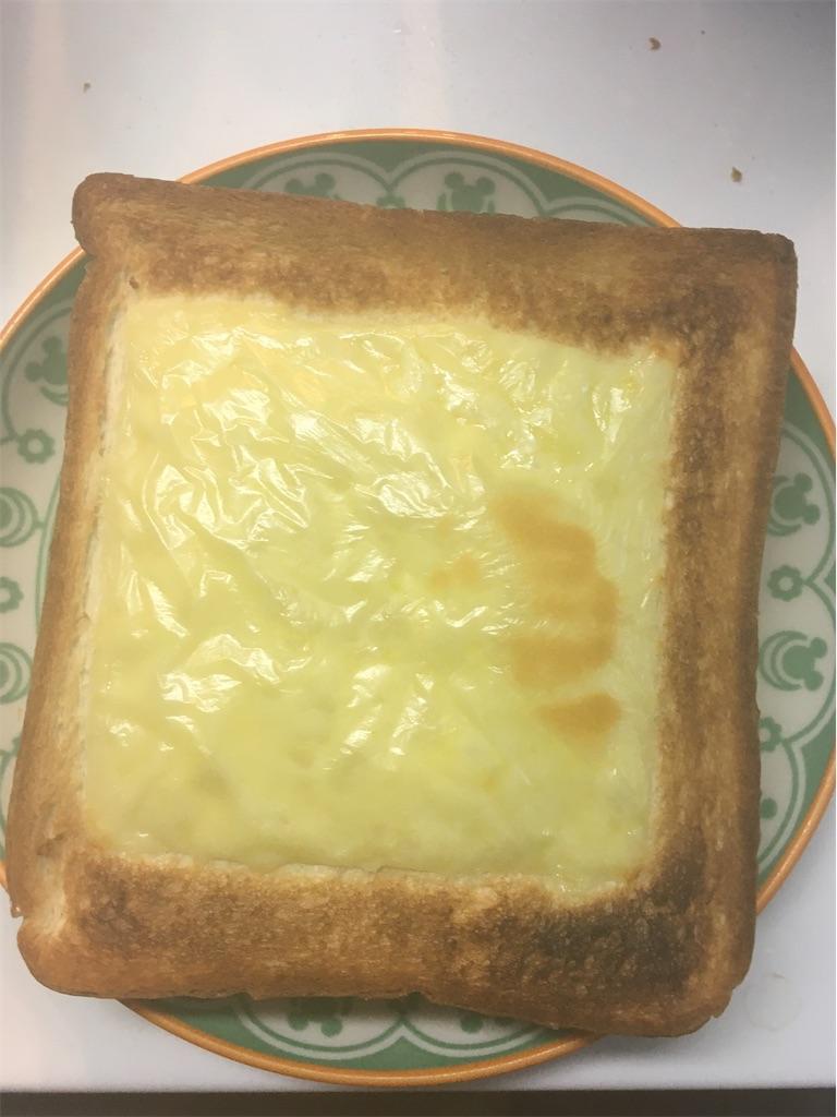 チーズトースト焼き時間5分 焦げた