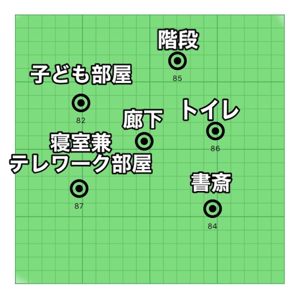 ヒートマップ2階