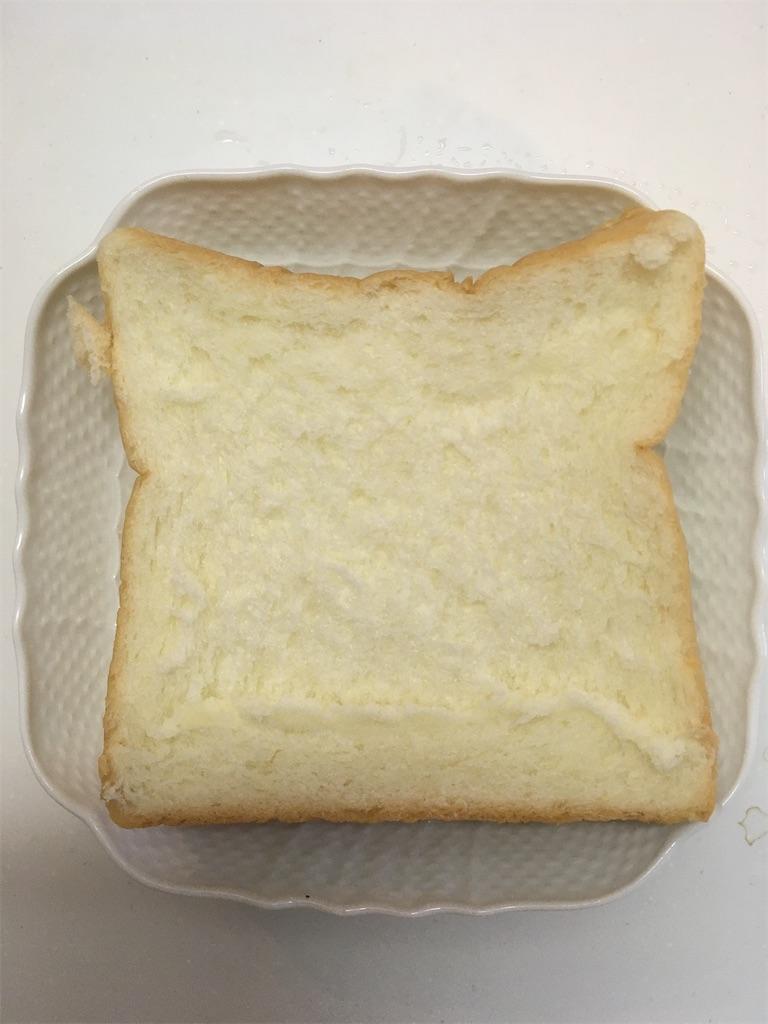 表面凸凹の食パン