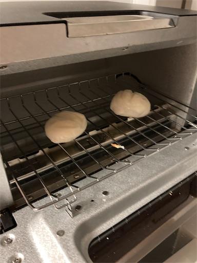 推奨方法で焼いた餅