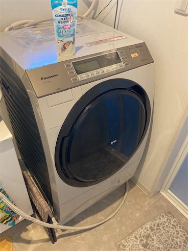 洗濯機外観