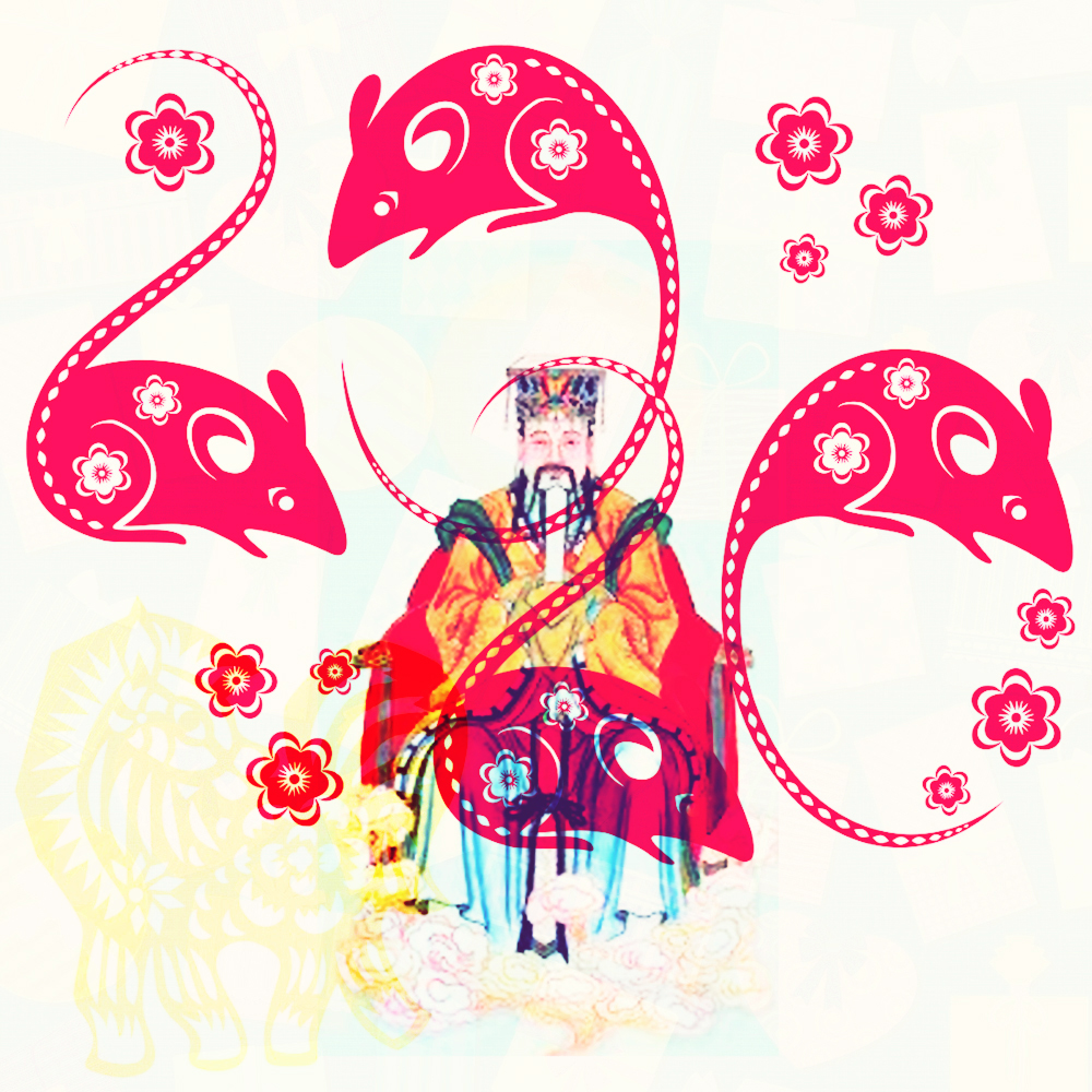 Year of the Rat and the Jade Emperor