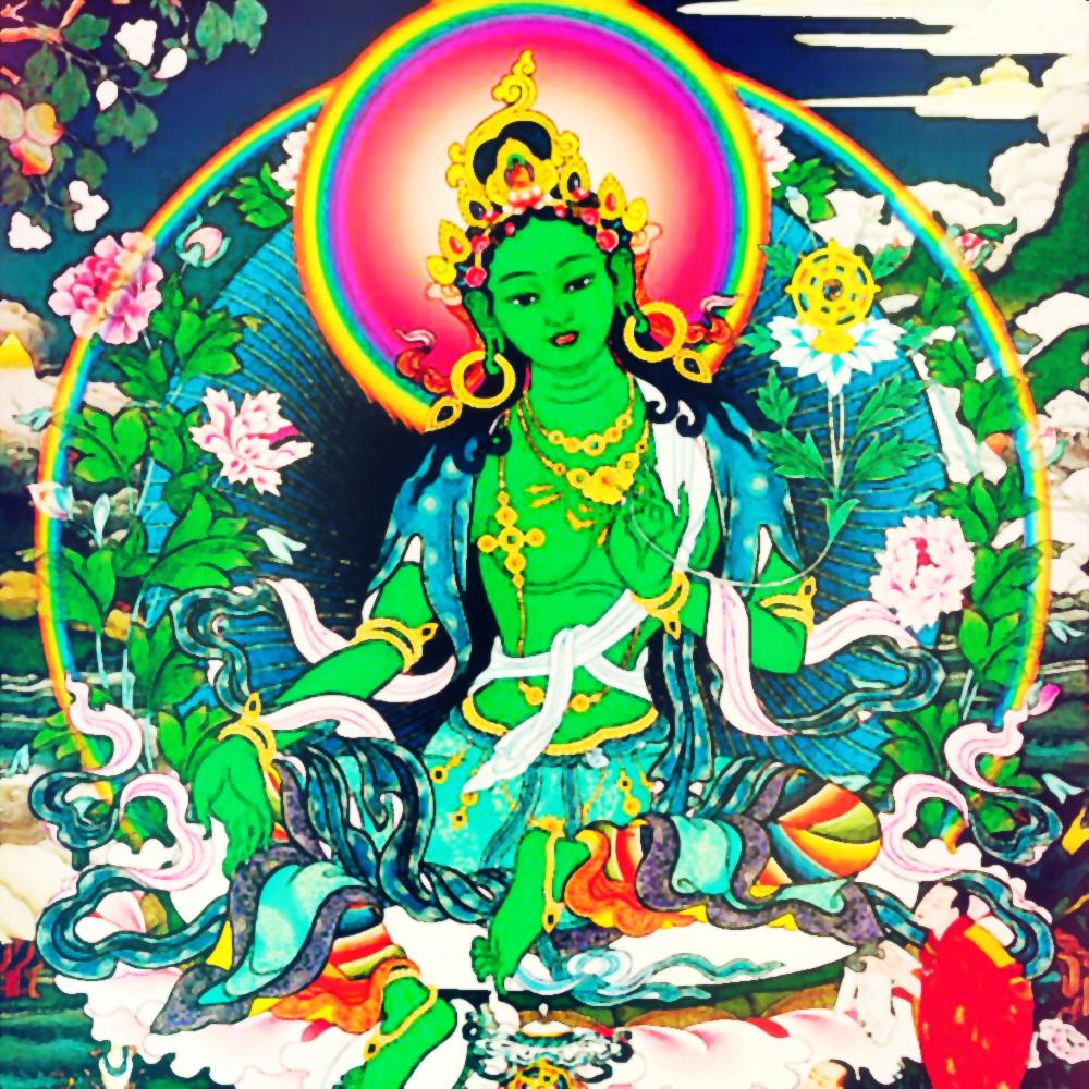 Green Tara Wind Shakti and Red Tara Fire Shakti Initiation