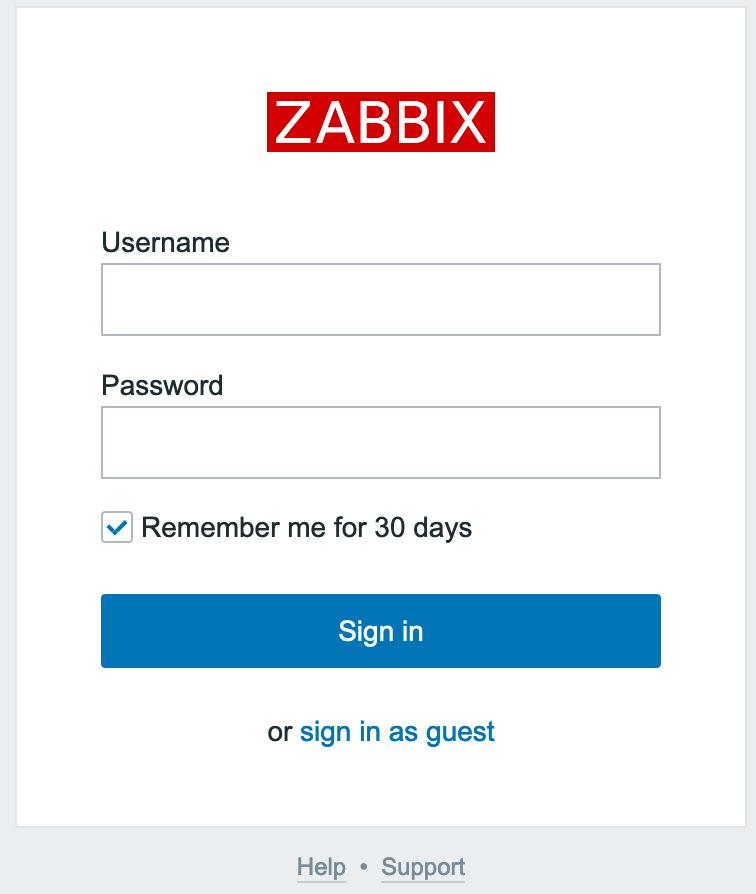 nginxをフロントエンドにした場合のログイン画面