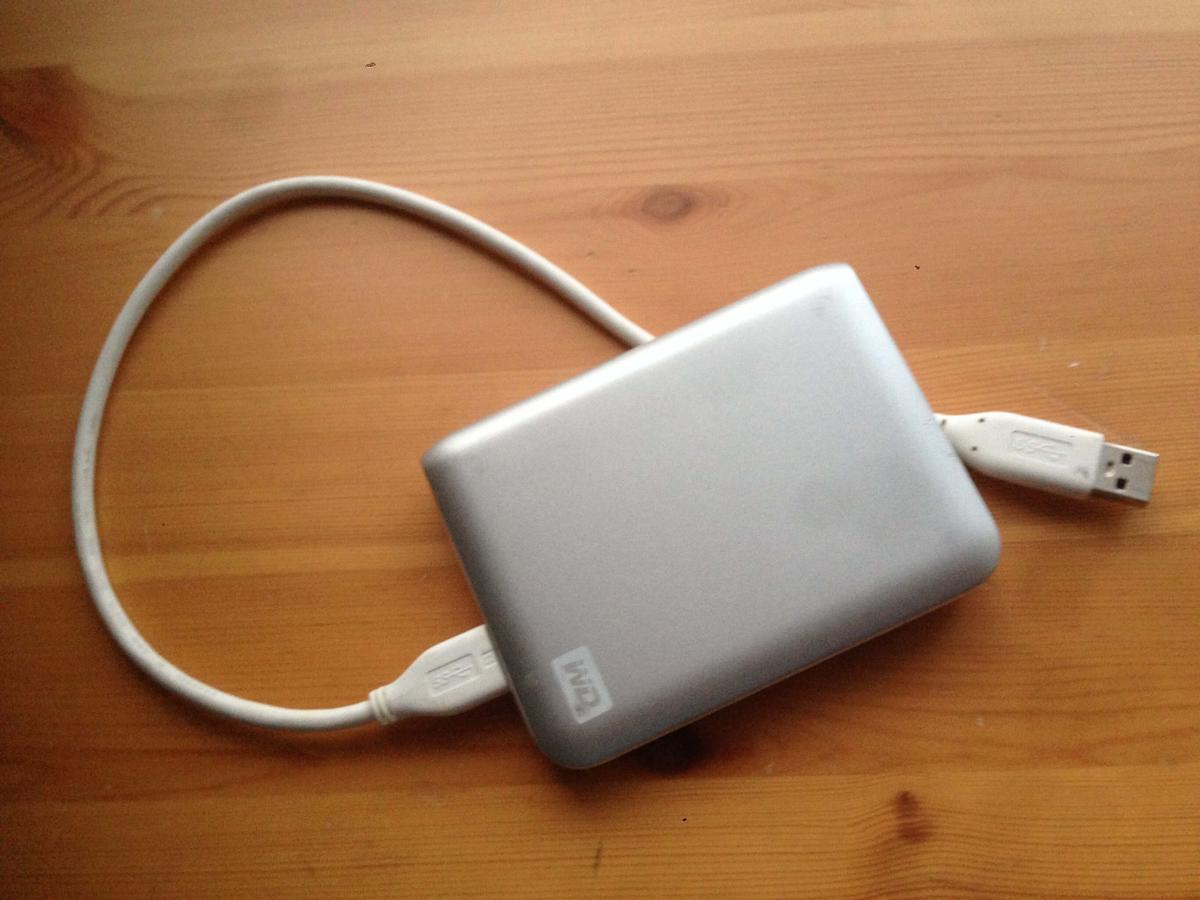 opio 外付けハードディスク(HDD)