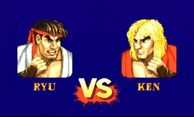 ストリートファイター2におけるリュウとケンのキャラクターどちらが弱いか?