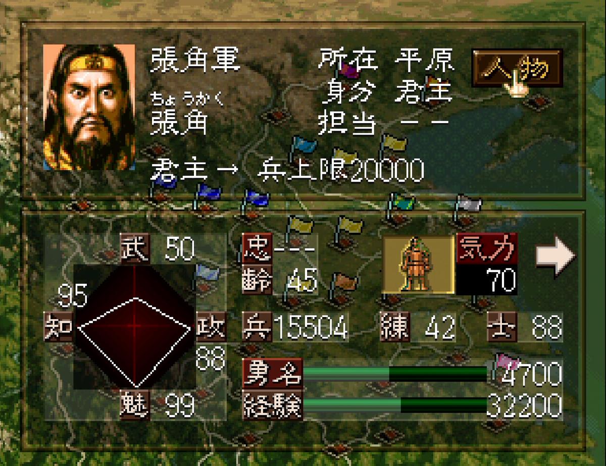 三国志5 武将 張角