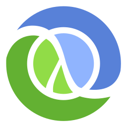 Clojure logo by Tom Hickey and Rich Hickey [Public domain], via Wikimedia Commons