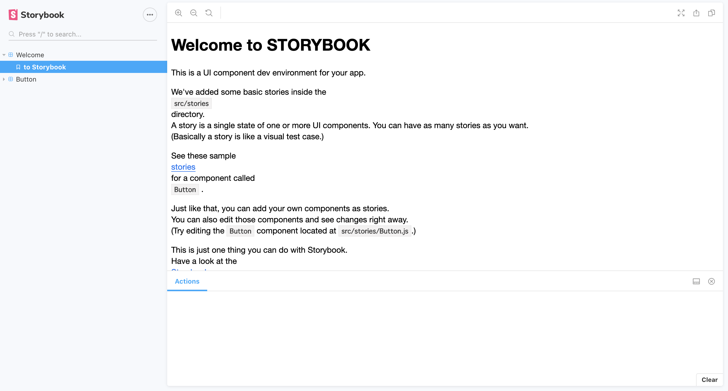 StoryBook-ReviewApps