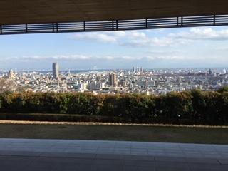 神戸大学からとったお昼の写真