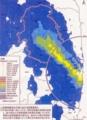 ※参考資料〜20年後(32年3月末)の空間線量率の予測図