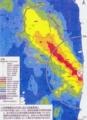 ※参考資料〜12年3月末の空間線量率の予測図