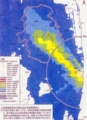 ※参考資料〜10年後(22年3月末)の空間線量率の予測図