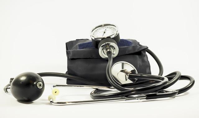 血圧計や聴診器などの医療器具