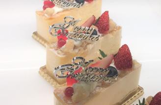 セントレジスのショートケーキ