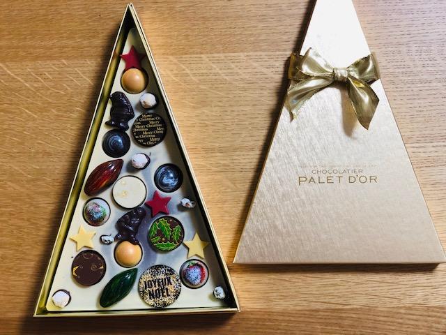 ショコラティエパレドオール(クリスマス限定ツリーチョコ)