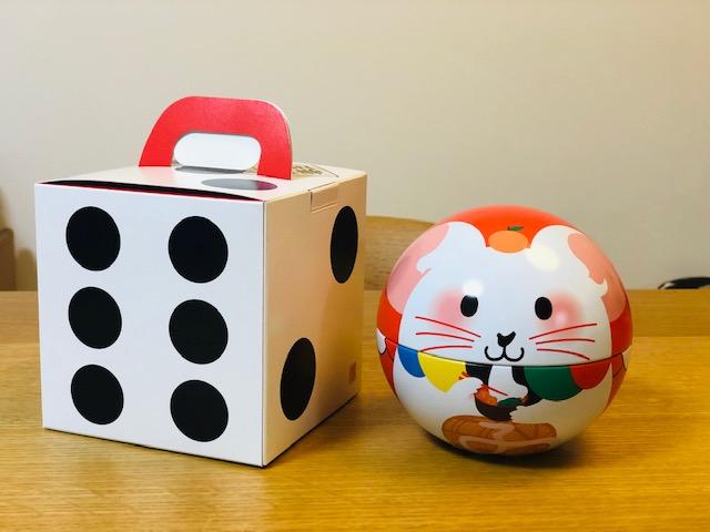 福玉の箱(すごろくのサイコロ型)