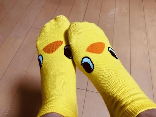 ひよこちゃんの靴下