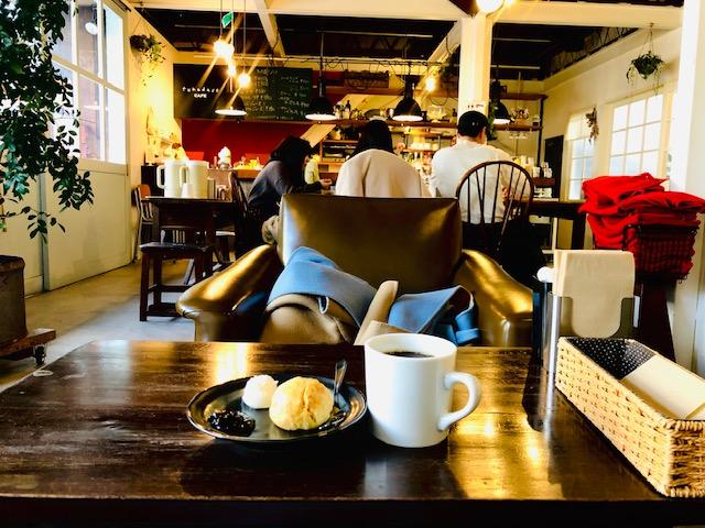 fukudaso cafe 店内