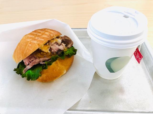 東京都現代美術館 2階のサンドイッチ