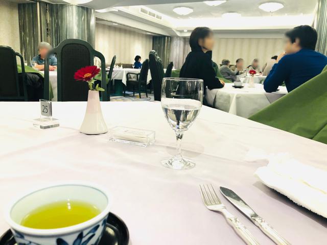 日本橋三越 特別食堂 インテリア