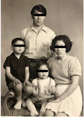 家族写真 パラサイト半地下の家族