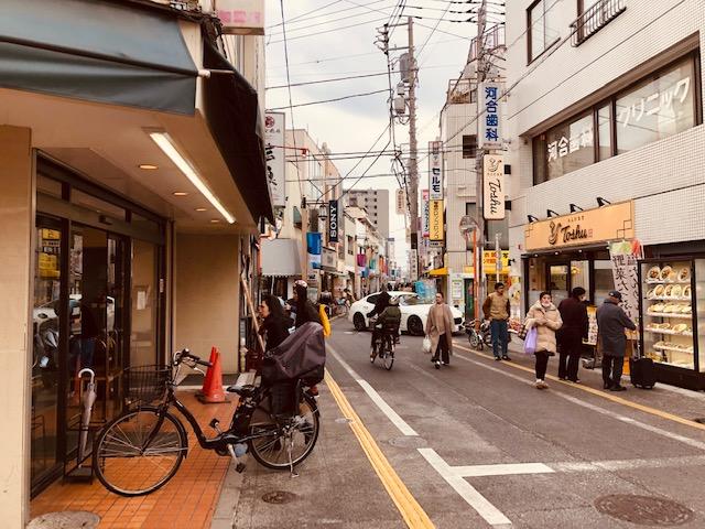 松陰神社前駅商店街