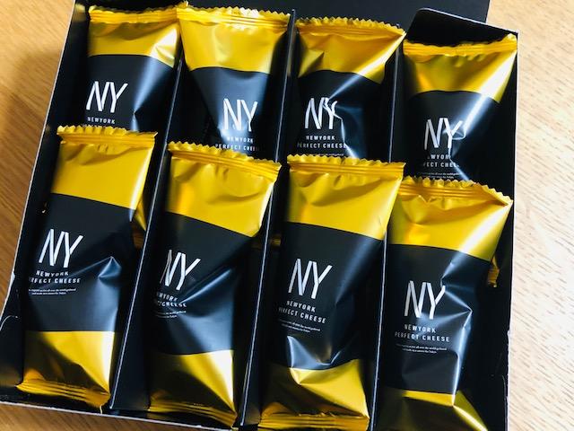 ニューヨークパーフェクトチーズ パッケージ 中身