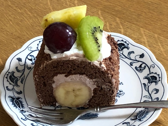 近江屋洋菓子店 バナナケーキ