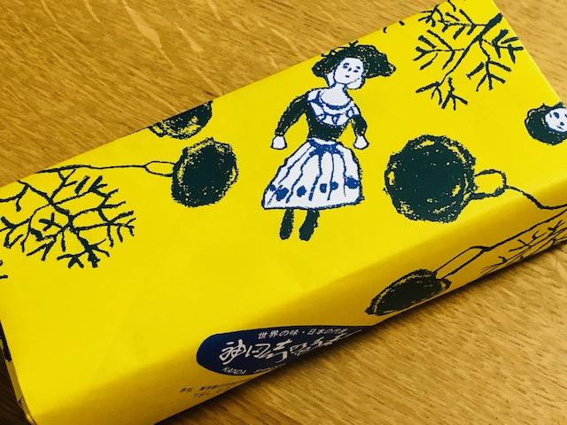 神田志乃田寿司 包み紙