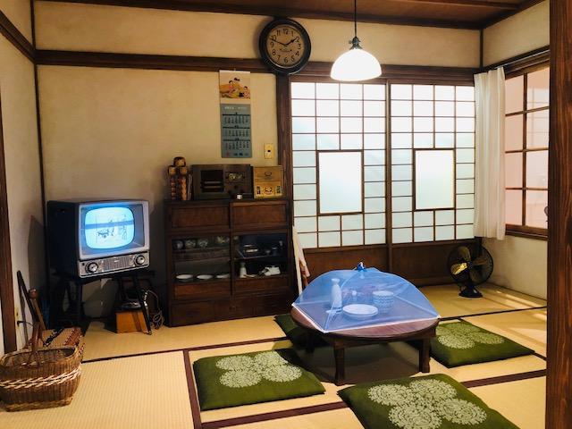 長谷川町子記念館 昭和のお茶の間