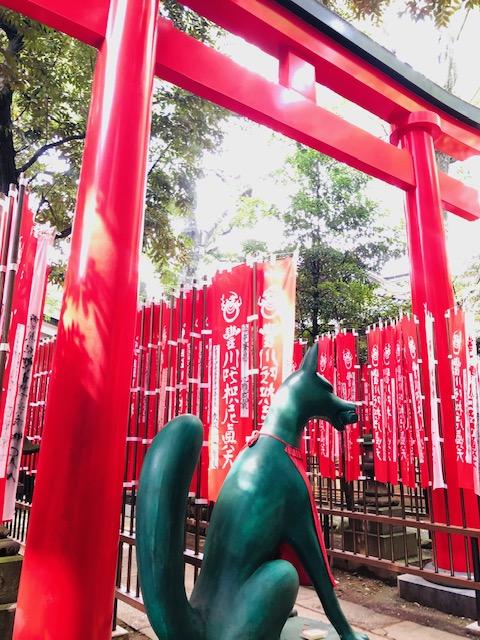 豊川稲荷 奥の院鳥居