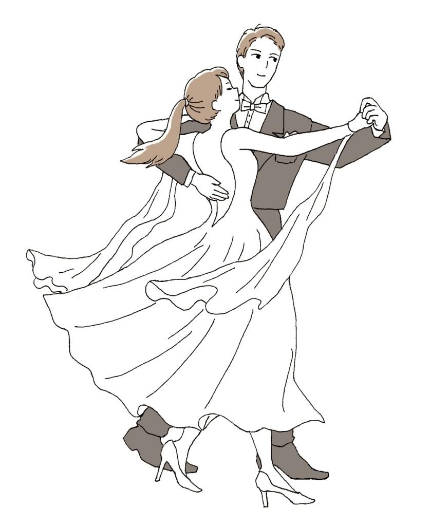 社交ダンスの基礎練習