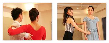 社交ダンスのリズム練習法