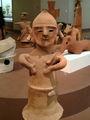 [museum]東博にて、埴輪「鍬を担ぐ男子」。なんか楽しそうね。