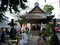 山形県酒田。ホテル近くの神社で、夏祭りをやっていた。
