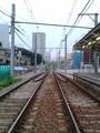 [散歩][目白周辺]雑司ヶ谷のチンチン電車、鬼子母神駅にて。