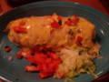 Tex-Mex。私が頼んだもの。ブリトー、もしくはブリットー(Burrito)。