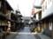 琵琶湖長浜、大通寺の参道。大通寺は「御坊さん」とも呼ばれる名刹。