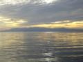 [旅行]琵琶湖の夕陽。ずっとこうして見ていたい。