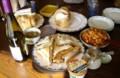 [買物] 友人宅にてサンドイッチ・ランチ。スープとサラダもあるよ〜。