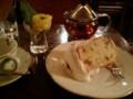 [目白周辺][ごはん] ル・プ・ティニの後継店「カフェ ドゥ ルー」の桜シフォンケーキ