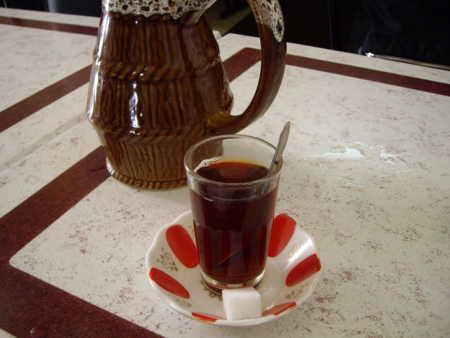 ちょっとアラビア風のお紅茶です。