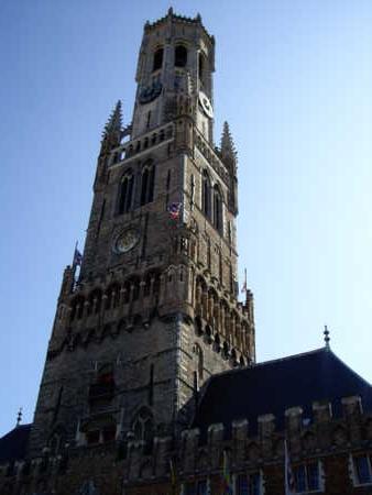 ブルージュ、マルクト広場の鐘楼。