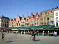 [ベルギー]ブルージュ、マルクト広場。